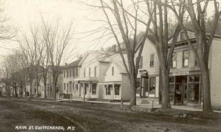 old photo of houses